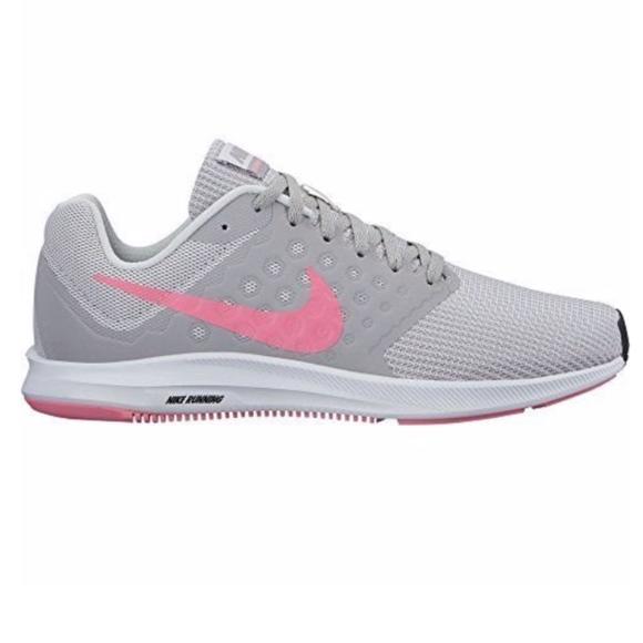 Nike Women's Downshifter Grey Pink Size 7